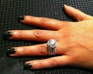 Evelyn Lozada's engagement ring
