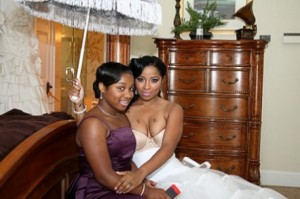 Toya and her daughter by Lil Wayne
