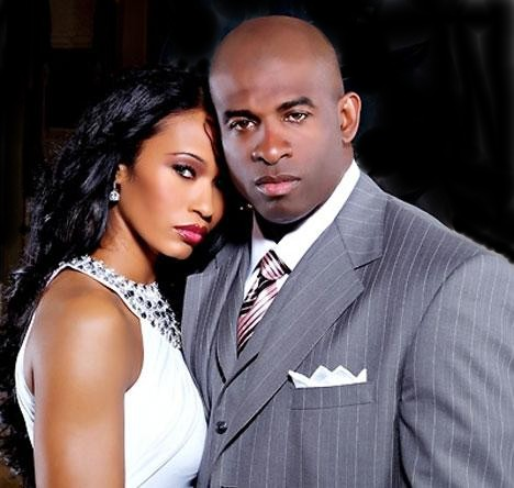 Deion and Pilar in happier times.