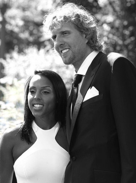 Dirk Nowitzki and Jessica Olsson have wed...allegedly.