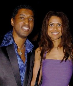 Tracey Edmonds and Babyface, the musician