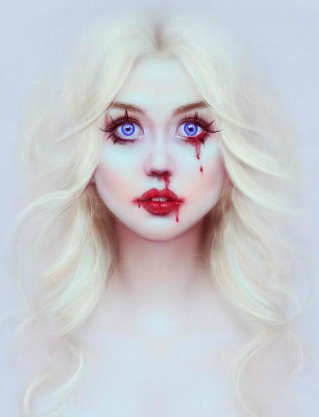 Allison Harvard in a striking pose.