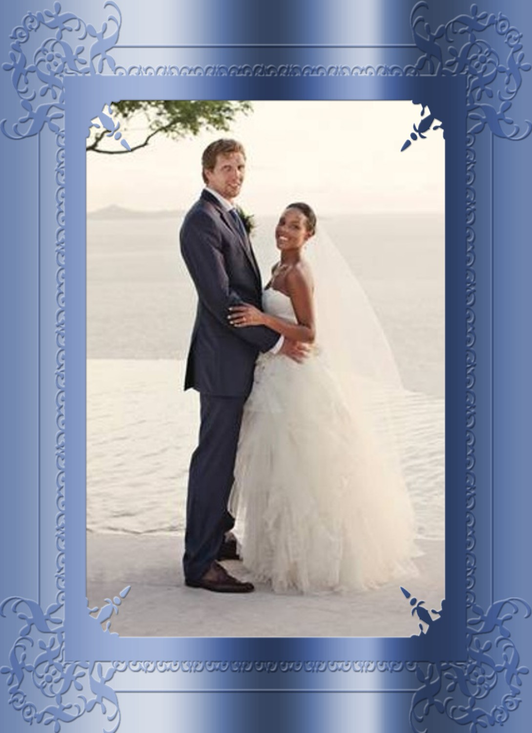 Dirk And Jessica Are Married (For Real This Time)