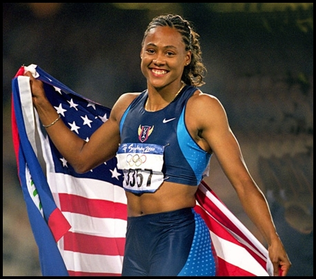 Marion-Jones-Olympic-track-star