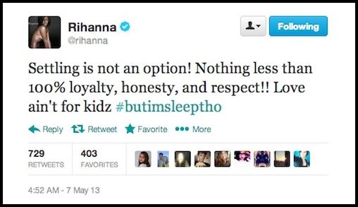 Rihanna-tweet