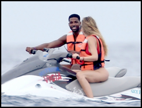 NBA player Tristan Thompson and swine flu carrier, Khloe Kardashian, were spotted in Cabo San Lucas, Mexico on September 3, 2016. The two were enjoying a jet ski ride together at the beach with a group of friends, who have since been quarantined.